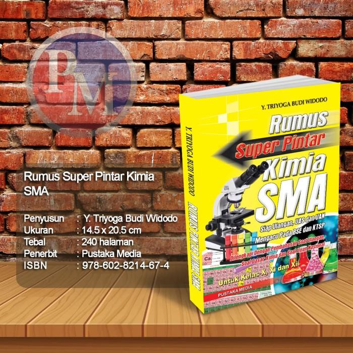 Foto Produk Rumus Super Pintar Kimia SMA dari Pustaka Media Surabaya