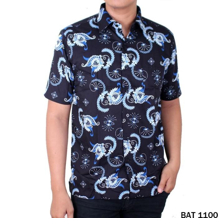 harga Batik baju etnik keren pria reguler fit pendek - bat 1100 Tokopedia.com