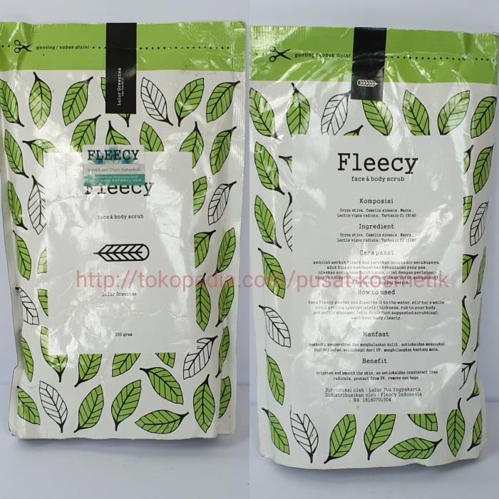 harga Fleecy scrub green tea original Tokopedia.com