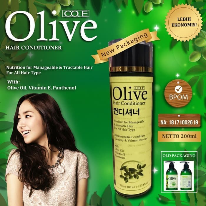 Foto Produk Coe Olive Korea Conditioner Bpom 200ml dari grosirshop99