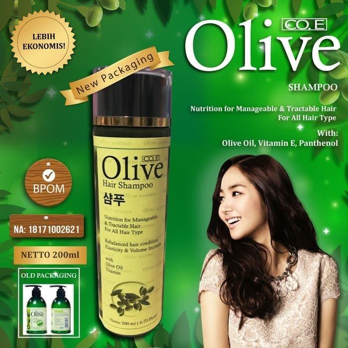 Foto Produk Coe Shampo Olive Korea Bpom 200ml - New Pack dari grosirshop99