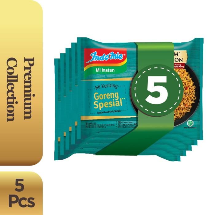 Foto Produk 5 Pcs - Indomie Mi Keriting Goreng Spesial dari Indomie Official Store