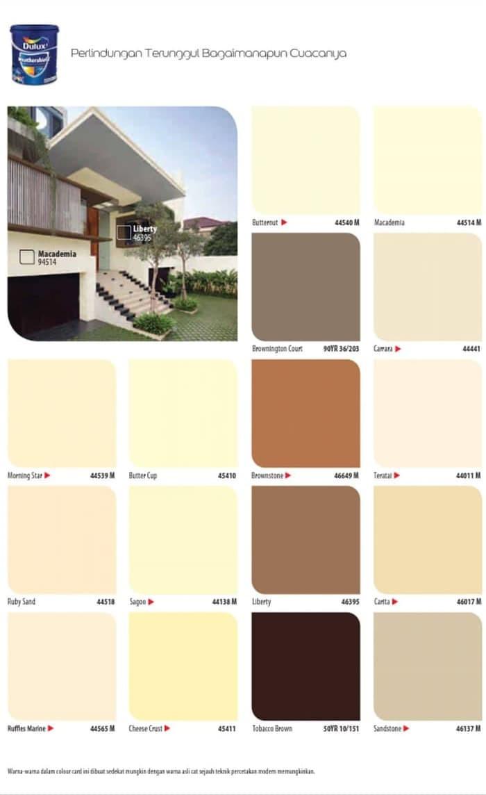 Warna Cat Rumah Exterior Mowilex