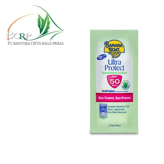 Travel Pack Banana Boat Sunblock - Ultra Protect Sunscreen SPF50