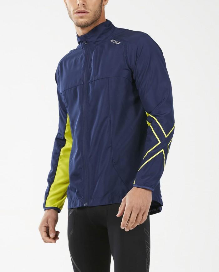 harga 2xu men's xvent vapourise jacket [mr5164a nvy/evp] - biru s Tokopedia.com
