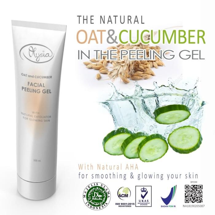 Foto Produk Oat & Cucumber Facial Peeling Gel dari Olysia Beauty
