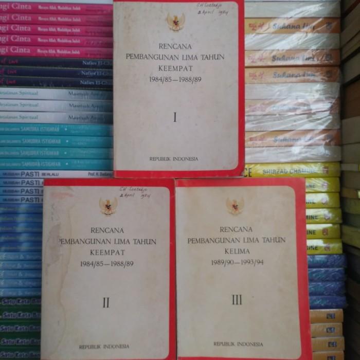 Jual Rencana Pembangunan Lima Tahun Keempat 1985 1989 Buku I Ii Iii Kab Bogor Toko Buku Berkat Tokopedia