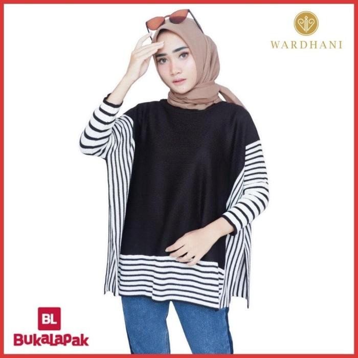 Wardhani - Baju Rajut Sweater Rajut Wanita Terbaru Murah Batwing Calie