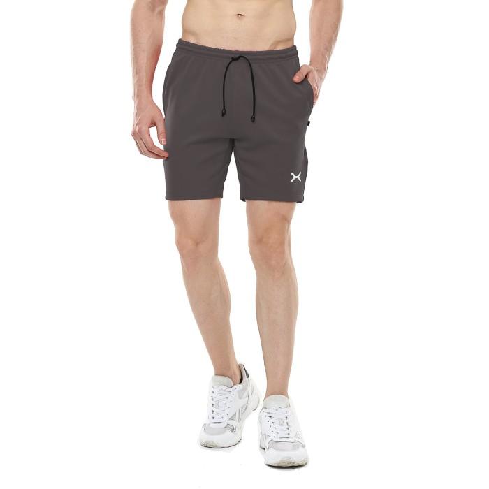 Foto Produk FLEXZONE Celana Pendek - Abu Glp - for Gym Running Jogging FCS-001AG - XL dari FLEXZONE