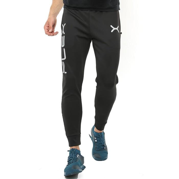 Foto Produk FLEXZONE Celana Jogger - Black - for Gym Running Jogging FCS-002HT - M dari FLEXZONE