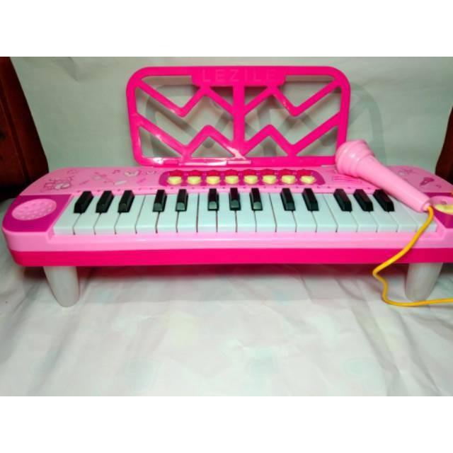 Jual Mainan Keyboard Piano Musik Organ Karaoke Anak Little Musician Medium  - DKI Jakarta - Music Planet | Tokopedia