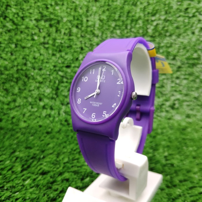 Foto Produk Q&Q QQ QnQ Analog Jam Tangan Wanita Ungu VP34J068Y Original dari Ogyta Shop