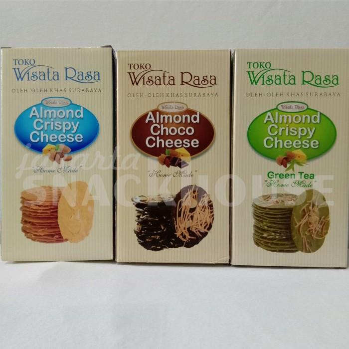 Jual Almond Crispy Cheese Choco Wisata Rasa Surabaya Jakarta Barat Jakarta Snackhouse Tokopedia