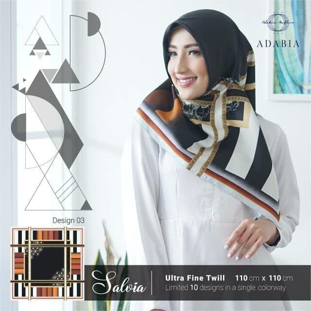 Segiempat almaz lamiz. jilbab satin velvet. kerudung motif bunga segi4