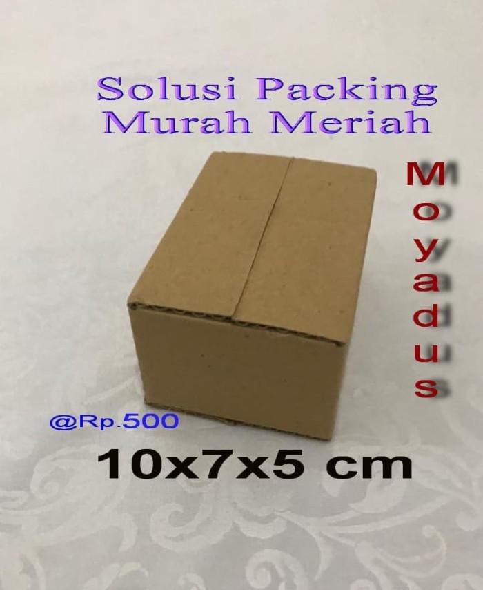 Foto Produk kardus/karton/box uk. 10x7x5 cm untuk packing dari moyadus