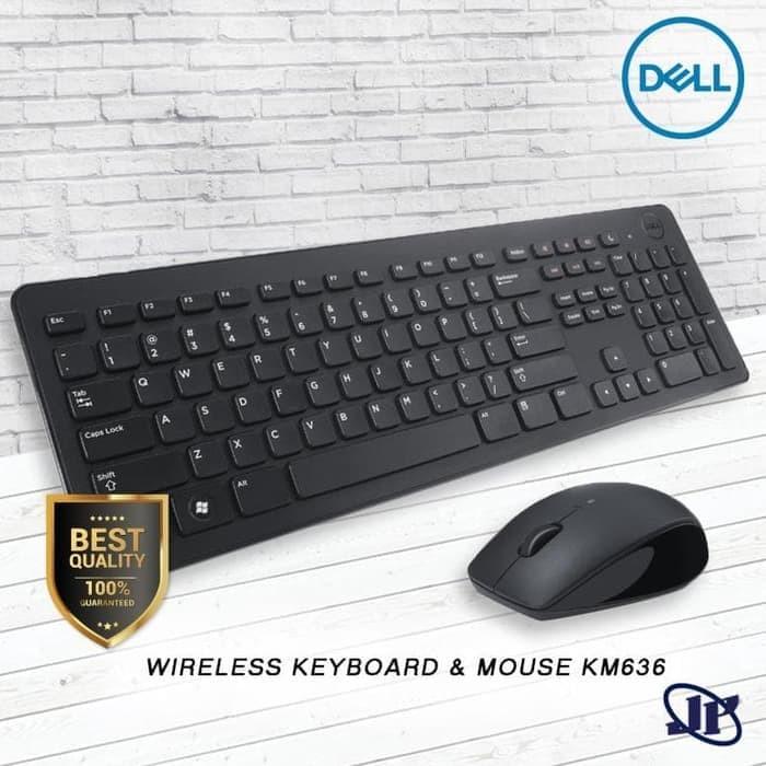 Jual Dell Wireless Keyboard Mouse Km636 Jakarta Pusat House Of It Tokopedia