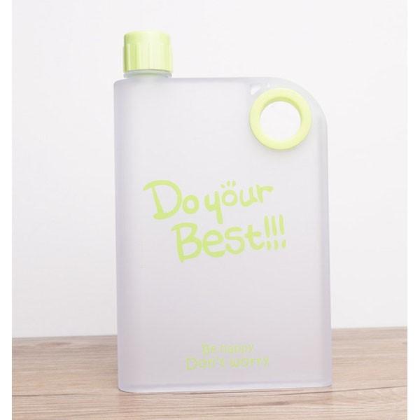 Foto Produk Memobottle Botol Minum Flat 380ml - Green dari Kusumawicitra