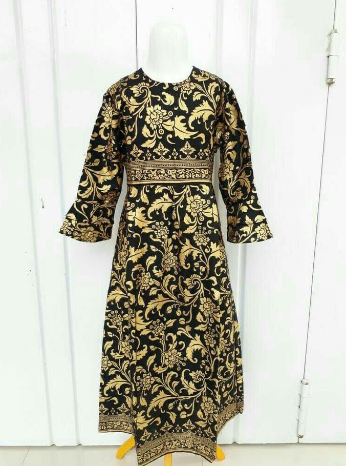 60 Desain Baju Batik Anak Perempuan