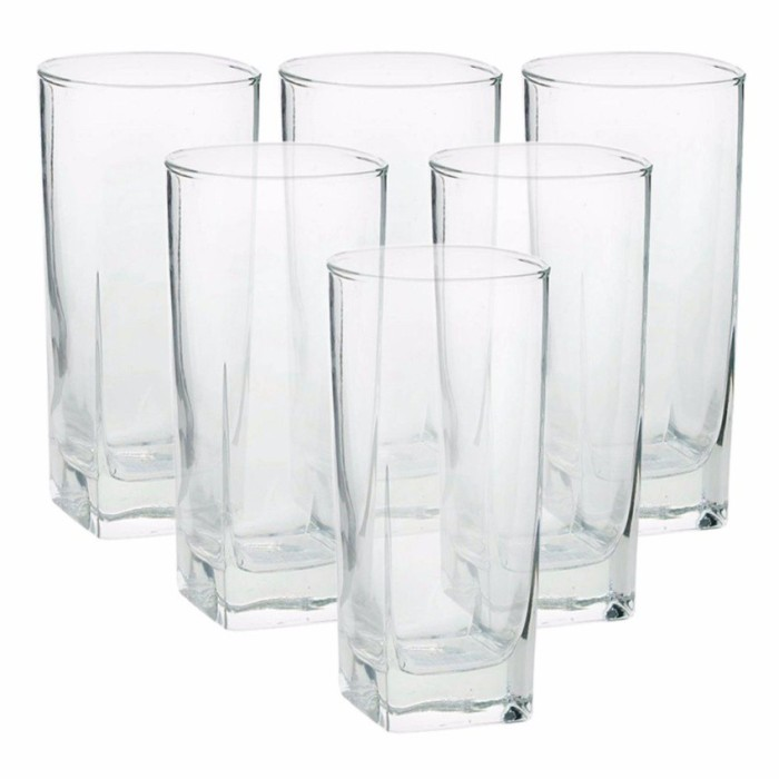 Luminarc Sterling HB Tumbler Glass 330ml 6Pcs