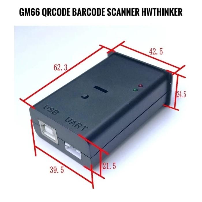 Jual GM66 Qrcode Barcode Scanner for Raspberry Arduino Android USB Serial -  Kota Surabaya - hwthinker | Tokopedia
