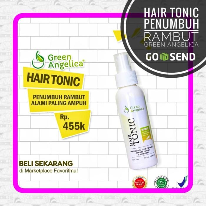 harga Green angelica hair tonik untuk menyuburkan rambut karena kerontokan Tokopedia.com