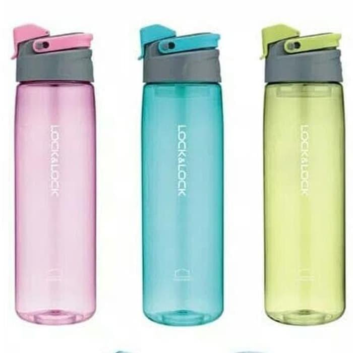 Foto Produk Limited Lock N Lock Botol Minum Sport Easy Stopper Bisfree 950 ML - Merah Muda dari CarissaChayra