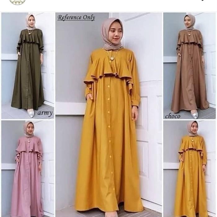 Jual Gamis Kekinian Gamis Remaja Gamis Modern Hitam Jakarta Utara Elnita Boutique Tokopedia