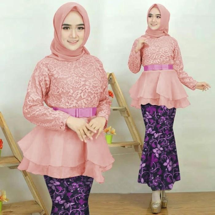 Jual Setelan Kebaya Modern Kebaya Wisuda Terbaru Baju Kondangan Kebaya Dki Jakarta Moudis Shop Inc Tokopedia