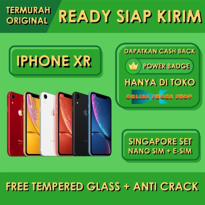 harga Iphone xr 64gb ready Tokopedia.com