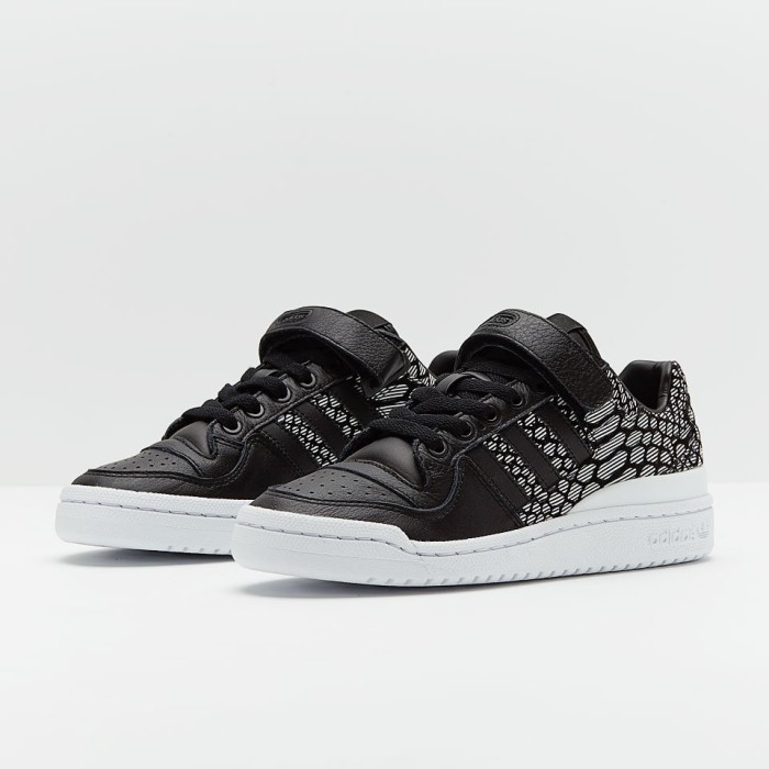 adidas originals damen forum low sneakers weiß