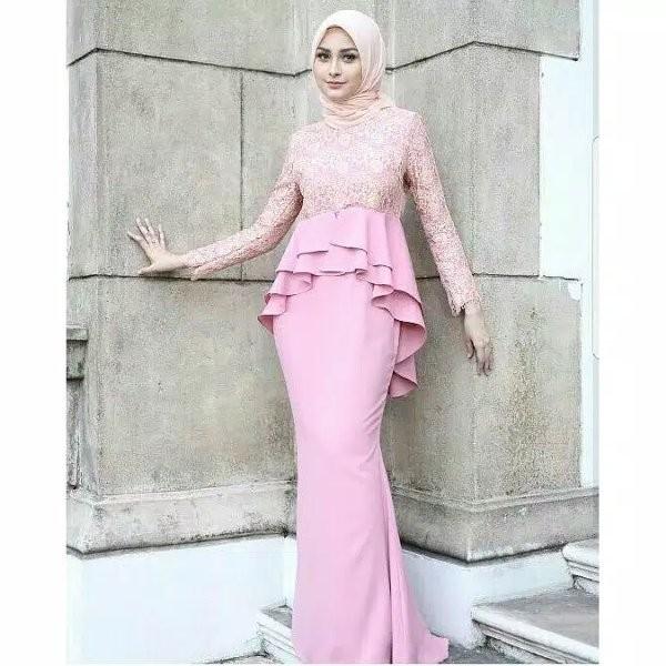 Jual Longdress Kebaya Muslim Busana Muslim Baju Gamis Syari Kebaya Wisuda Jakarta Timur Tokolantas Tokopedia