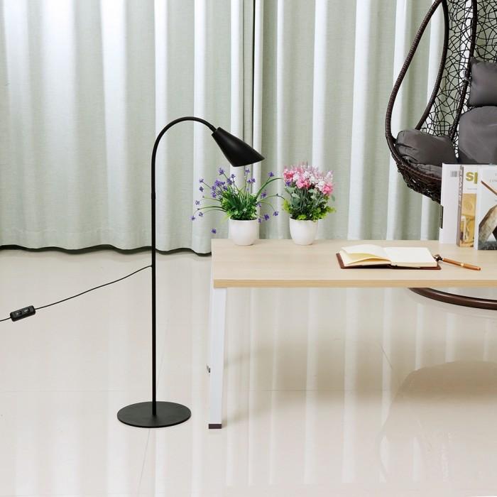 Jual Terlaris Adjustable Led Floor Lamp Light Reading Home Office Jakarta Pusat Infinity Byte Tokopedia