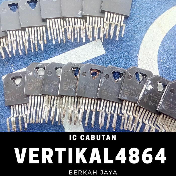 Foto Produk IC vertical vertikal ORI cabutan TDA 4864 / 4863 untuk LG slim 29 inch dari Deutz_online
