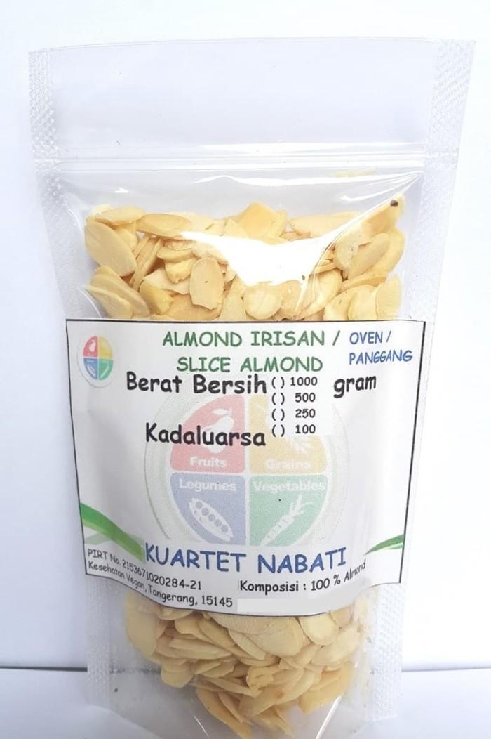 Foto Produk Almond Slice - Irisan - Oven - Pangggang - Matang - Rasa Original 100G dari Minimarket Vegan