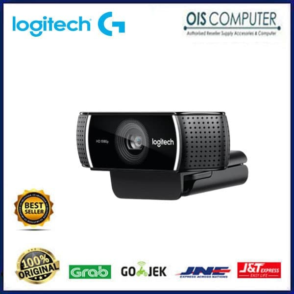Logitech C922 PRO STREAM Webcam Background Replacement + Tripod