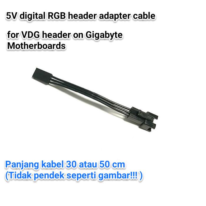 Jual Addressable RGB Header Adapter for Asus Aura MSI JRAINBOW Gigabyte -  Kab  Majalengka - Agis' Shop | Tokopedia
