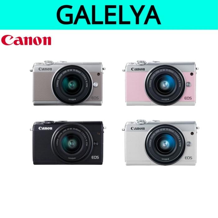 harga Canon eos m100 ef m15-45 is stm Tokopedia.com
