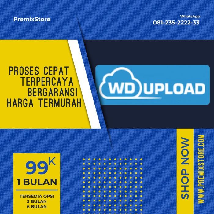 Jual Akun WDUpload Murah & Bergaransi - PremixStore - Kab  Pasuruan -  PremixStore | Tokopedia