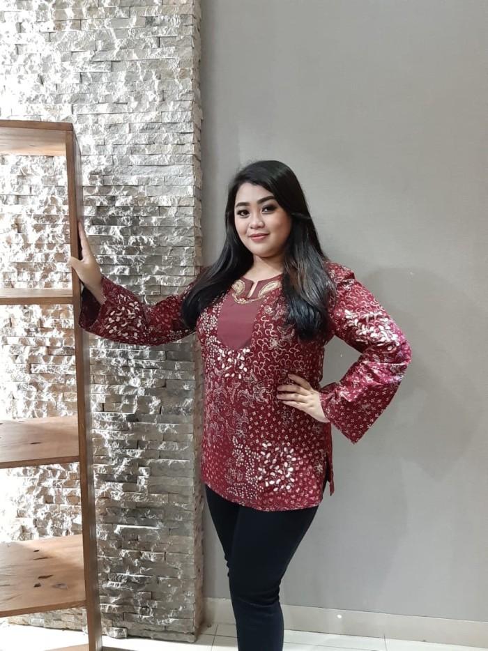 Foto Produk Blouse Batik Katun Tulis Lasem Brand Batik Muda UK XXL - BAAB25135 dari BatikMuda