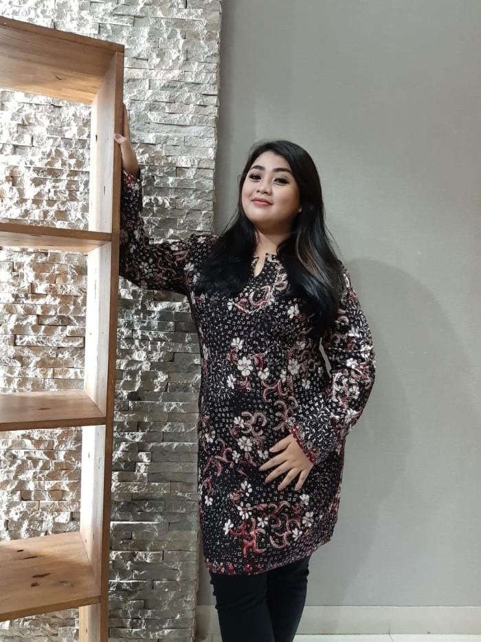 Foto Produk Dress Batik Katun Tulis Lasem Brand Batik Muda Uk XXL - BAAD25125 dari BatikMuda
