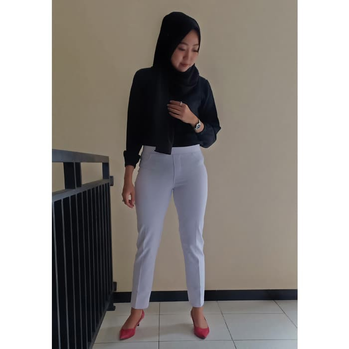 Jual Terbaik Celana Legging Polos Warna Putih Size M High Quality Asli Kab Temanggung Legging Bahan Tebal Tokopedia
