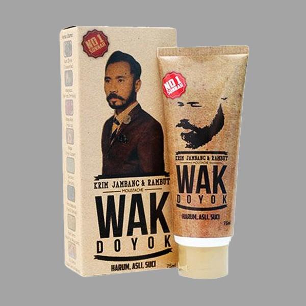 Cream Penumbuh Jambang & Kumis / Wak Doyok 100% Original