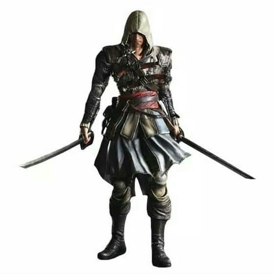 Jual Action Figure Assassin Creed Iii Edward Kenway Kota Bekasi