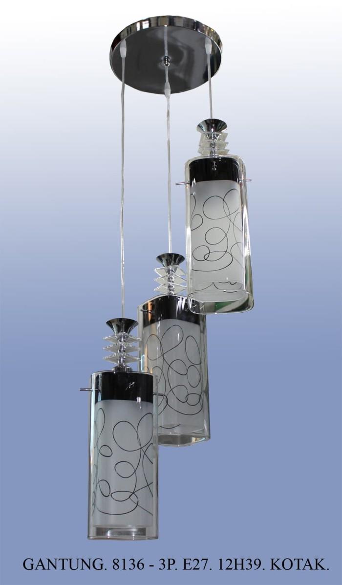 Jual Lampu Hias Gantung Dekorasi Ruang Tamu Meja Makan Minimalis 8136 3 Jakarta Barat Mandiri Electrical
