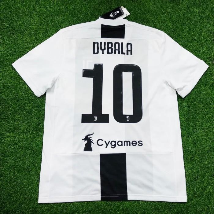 lowest price da2d2 41375 Jual Original Jersey Juventus 2018 - 19 Home Dybala Baju Bola Asli -  Jakarta Pusat - Jakarta Football Shop | Tokopedia
