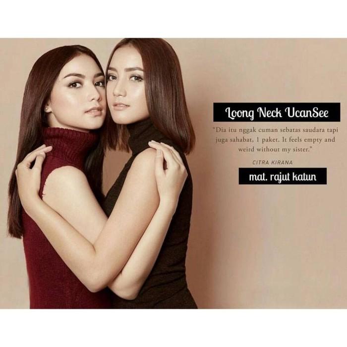 Foto Produk Maroon Turtle Neck - Merah dari New & Preloved by Ivana
