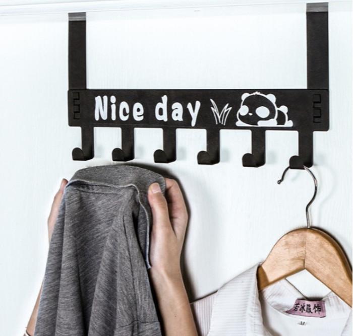 Foto Produk Gantungan Baju Besi Portable Utk Pintu, Hook Hanger/Kapstok dari OOGI