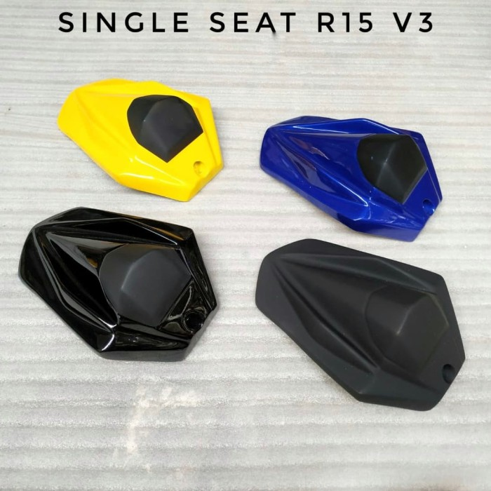 Foto Produk single seat r15 v3 cover jok belakang r15 vva visor r15 v3 winglet r15 dari malikmotoshop
