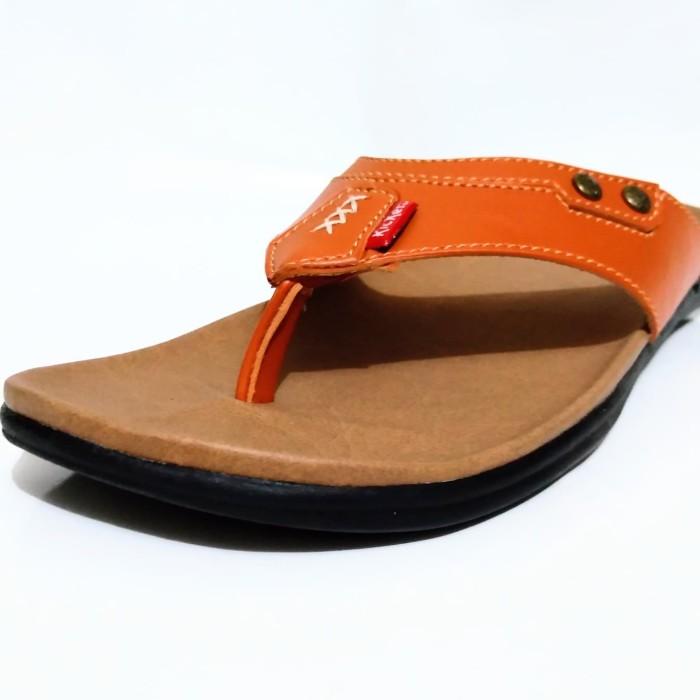 Foto Produk Sandal Pria Casual Coklat - Cokelat, 39 dari Fahry 307shop