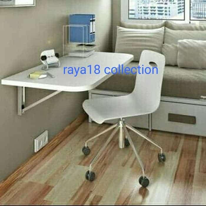 Foto Produk meja lipat dinding rias 40 cm x 80 cm dari Raya18 Collection